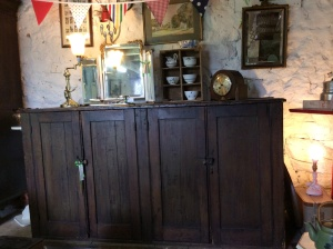 Fantastic 18th century large farmhouse kitchen cupboard.